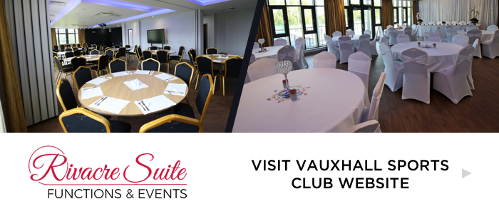 Vauxhall Sports Club Functions